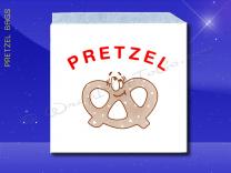 Pretzel Bags - 6-3/4 x 7 - Printed Pretzel